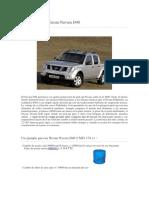 Mantenimiento Nissan Navara D40