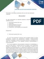 Presentación del curso instrumentación industrial