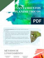 LEVANTAMIENTOS PLANIMETRICOS