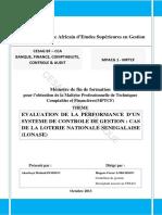 [MFE-CESAG] Eval. Perform. Contrôle de Gestion Au Sénégal(M0132MPTCF14)