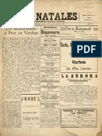 El Natales Agosto 1922