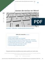 50+ Atajos de teclado en Microsoft Word para escribir más rápido ⚡ 2020