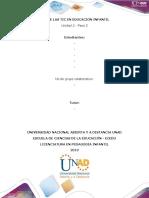 Plantilla de trabajo - Paso 3  APP educativa