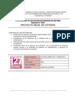 BENIGNI - Historia Americana y Argentina I 2020 - Proyecto para estudiantes