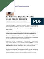 PUNTOS A TENER EN CUENTA EN PERICIAS.doc