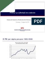 Peru y La Libertad en Contexto