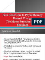 Pain Relief Due to Physiotherapy Doesn't Change 2