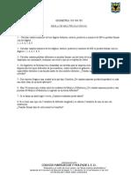 Taller Regla de multiplicación (II).