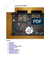 O amplificador Leach amp 200W