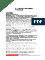 Reglamento Construcción Hermosillo