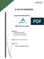 Informe BlackArchLinux