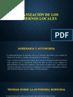ORGANIZACIÓN DE GOBIERNOS LOCALES