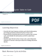 The Revenue Cycle Sales to Cash Collections