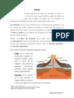 Volcán Geografía