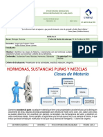 GUÍA INTEGRADA No 2 QUÍMICA -BIOLOGÍA  NOVENO GRADO OCTUBRE DE 2020