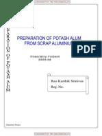 CBSE-XIi-Chemistry-Project-PREPARATION-OF-POTASH-ALUM-FROM-SCRAP-ALUMINIUM
