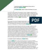 FUNDAMENTO CONSTITUCIONAL Y DESARROLLO LEGAL DE LA COMISIÓN NACIONAL DEL SERVICIO CIVIL