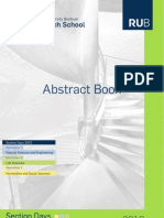 Abstract Book Section Days 2010