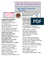 MISA DE ABUELA NATIVIDAD