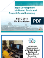 Language Development With Web-Based Tools and Project-Based Learning at FETC 2011