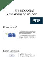 1.1 Laboratorul de Biologie