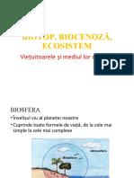 1.3 Biotop Biocenoza Ecosistem Refacut
