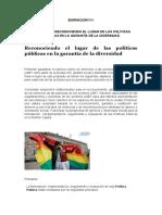 ACTIVIDAD 5 - RECONOCIENDO EL LUGAR DE LAS POLÍTICAS PÚBLICAS EN LA GARANTÍA DE LA DIVERSIDAD.docx