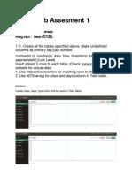 DBMS Assessment 1