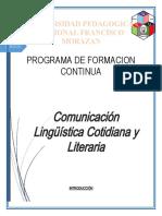 Ensayo Comunicacion Linguistica