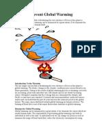 global wwarming