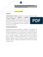 HISTORIA CIDEA CALDAS