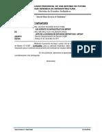 INFORME Nº 159 requerimiento DE BIENES COMBUSTIBLES