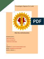 PRÁCTICA INTEGRADORA
