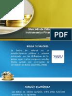 Mercado de valores Capítulo V