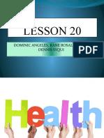 LESSON-20-HEALTH.pptx