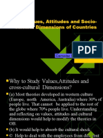 2.Valus, Attitudes and Cultural Dimensions