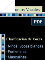 Conjuntos Vocales