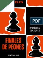 Finales de Peones-Maizelis-Algebraico