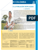 ACNUR Situacion Colombia Tierras - 2012