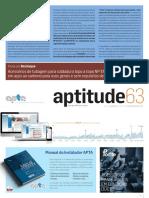 APTA-APTitude nº 63