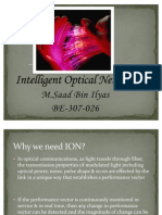 intelligent optical network by saad randhawa
