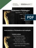 Anatomia e Fisiologia I -  Introdução