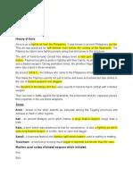 Arnis Notes