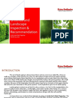 Grounds Inspection and Recommendation
