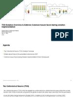 TCS Overview Solution Implementation Queries