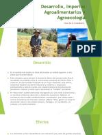 Desarrollo Agroecología Imperios Agroalimentarios