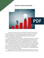 Comportamento e perfil do empreendedor