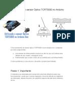 Como utilizar o sensor Óptico TCRT5000 no Arduino Uno