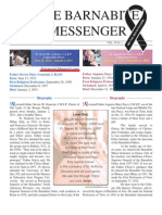 The Barnabite Messenger Vol.39 No.1 - Spring 2011