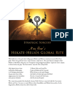 HEKATE AND HELIOS NEW YEAR RITE